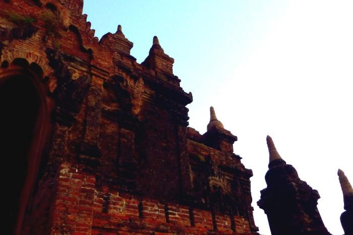 Stupa Sky Bagan