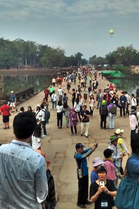 Angkor Crowd