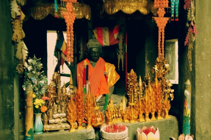 Ta Prohm Buddha